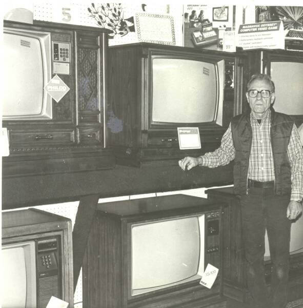 Black and White TVs